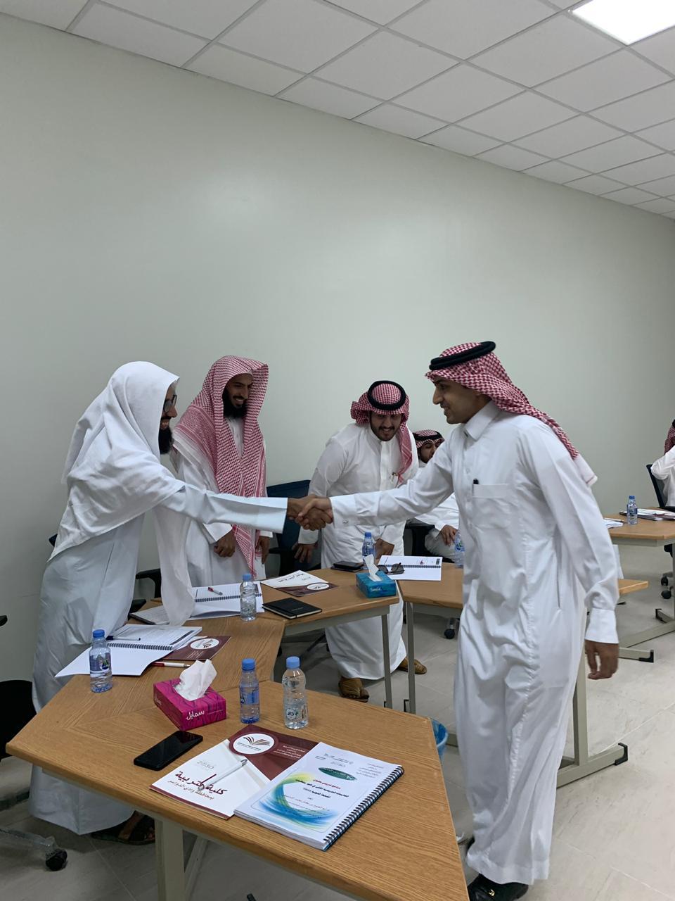 كلية التربية بوادي الدواسر تشارك في إقامة برامج تدريبية صيفية للمعلمين بالتعاون مع المركز الوطني للتطوير المهني التعليمي