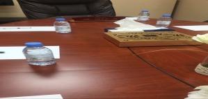 الاجتماع الأول لمجلس الطالبات الاستشاري بعمادة السنة التحضيرية