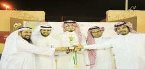 مشرف كليات الأفلاج يتوج الفائزين في لعبتيْ تنس الطاولة والفريرة
