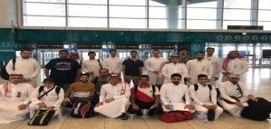 طلاب الأندية الصحية بالجامعة يشاركون في خدمة حجاج بيت الله الحرام
