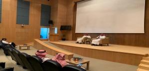 الدكتور أحمد العليوي يلتقي بطلاب كلية الصيدلة