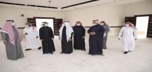 الدكتور الحامد يزور مشروعي مسجد إسكان أعضاء هيئة التدريس والطلاب