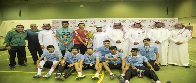 إدارة الأعمال بالحوطة تحقق لقب بطولة الجامعة لكرة القدم للصالات السابعة