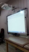 محاضرة بعنوان (السبورة الذكية) بكلية العلوم الطبية التطبيقية شطر الطالبات