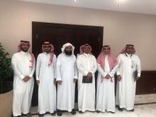 وفد جامعة الباحة في زيارة لأمانة أوقاف جامعة الأمير سطام