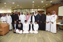 عمادة شؤون المكتبات تستقبل زوارها من متوسطة الأمير فيصل بن فهد بن عبدالعزيز