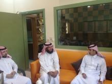 طلاب كلية المجتمع بالخرج في زيارة إلى معهد ريادة الأعمال الوطني بالخرج