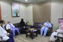 حملة التطعيم ضد الانفلونزا الموسمية بكلية طب الأسنان بجامعة الأمير سطام بن عبد العزيز