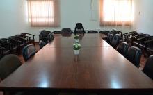 اجتماع وكيلة الكلية بمنسوبيها في كلية العلوم والدراسات الإنسانية بالأفلاج ( شطر الطالبات )