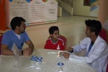 نادي إشراقة بكلية طب الأسنان يقيم حملة توعوية لصحة الفم وسلامة الأسنان