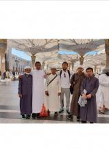 طلاب المنح الخارجية في زيارة للمدينة المنورة