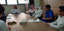 التحضيرية تعقد اجتماع المجلس الاستشاري الطلابي الأول