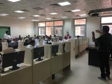 كلية العلوم والدراسات الانسانية بالخرج تقيم دورة إدارة مراجع التخرج باستخدام الاندنوت