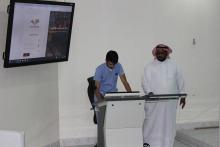 دوره تدريبية لطلاب الكلية بعنوان (كيفية الدخول والتعامل مع المكتبه الرقمية وربط بعض قواعد المعلومات المتخصصة)