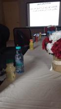 كلية المجتمع تستضيف طالبات عمادة خدمة المجتمع والتعليم المستمر لحضور محاضره توعويه
