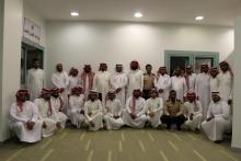 """دورة """" فن التعامل مع الجمهور """" لموظفي الأمن والسلامة بجامعة الأمير سطام بن عبدالعزيز"""