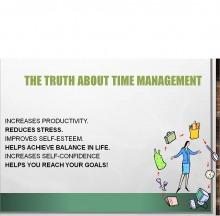 ورشة (إدارة الوقت ) بكلية الآداب والعلوم بوادي الدواسر