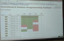 ختام مسابقة البرمجة في كلية هندسة وعلوم الحاسب