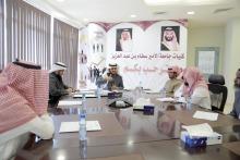 كلية العلوم والدراسات الإنسانية بالأفلاج تعقد المجلس السادس