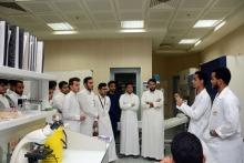 عمادة السنة التحضيرية في زيارة لكلية العلوم الطبية التطبيقية