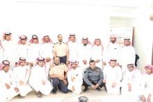 """اختتام دورة """" الشخصية الإيجابية """" لموظفي الأمن والسلامة بجامعة الأمير سطام بن عبدالعزيز"""