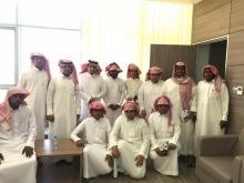 طلاب مدرسة ثانوية عمرو بن العاص في زيارة لكلية الهندسة بوادي الدواسر