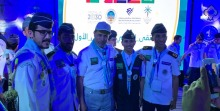 جوالة الجامعة تشارك في الملتقى الوطني الكشفي