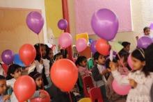 فعالية طالبات رياض الأطفال(بأناملي أبدع ) في الروضة الرابعة بالخرج