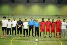 نتائج اليوم الثالث من مباريات بطولة الجامعة لكرة القدم للصالات