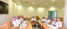 اللجنة العليا للإشراف على الملتقى العلمي الثالث تعقد اجتماعها الأول