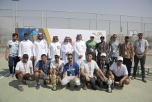 عمادة شؤون الطلاب تنظم بطولة الجامعة الثانية للتنس الأرضي