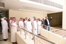 معالي مدير الجامعة يتفقد مباني الطالبات في وادي الدواسر