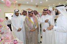 حضور محافظ وادي الدواسر ومستشفي العام مع كليه العلوم الطبيه بالوادي في معرض السلطانه