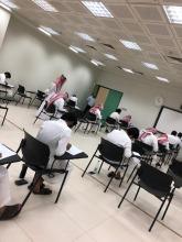 عميد كلية هندسة وعلوم الحاسب الدكتور محمد الشمري يتفقد سير الإختبارات النهائية لطلاب الفصل الدراسي الصيفي 1439هـ / 1440هـ