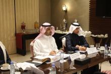 المجلس الاستشاري لكلية العلوم والدراسات الانسانية بالخرج يعقد اجتماعه الأول