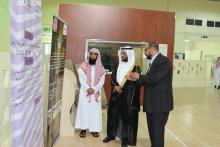 طالبات كلية المجتمع بالخرج يناقشن مشاريع التخرج
