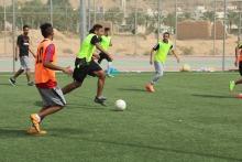دوري كرة القدم بين أقسام كلية إدارة الأعمال في حوطة بني تميم