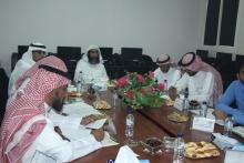 اجتماع المجلس الاستشاري في كلية إدارة الأعمال بحوطة بني تميم