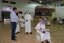 كلية المجتمع بالخرج تجري اختبار اللغة الإنجليزية للطلاب المقبولين في قسم اللغة الإنجليزية