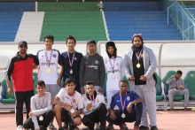 كلية المجتمع بالخرج تشارك في بطولة الجامعة لألعاب القوى