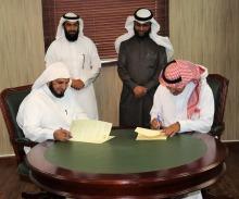 عمادة شؤون الطلاب توقع اتفاقية شراكة مع لجنة التنمية الاجتماعية بالسيح