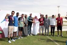 كلية العلوم الإنسانية بالخرج تحقق لقب بطولة الجامعة الأولى لألعاب القوى
