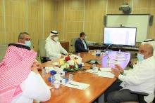 وكالة الجامعة للتطوير والجودة تناقش تنفيذ مشروعات المرحلة الأولى من الخطة التنفيذية