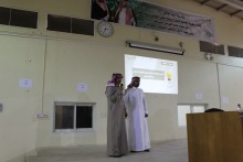 فعاليات البرنامج التثقيفي لعمادة القبول والتسجيل بكلية المجتمع بالخرج