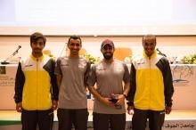 عمادة شؤون الطلاب تشارك في بطولة الاتحاد الرياضي لكرة الطائرة الشاطئية
