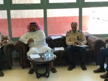 إدارة الأمن تعقد الاجتماع التحضيري لبداية العام الدراسي الجديد 1439 / 1440 هـ