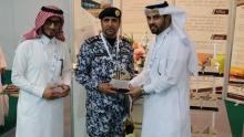 معهد البحوث والخدمات الاستشاريّة بجامعة الأمير سطّام بن عبد العزيز يشارك في فعاليات المعرض السعودي للأمن الوطني والوقاية من المخاطر