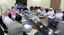 الاجتماع الأول للمجلس الاستشاري لكلية العلوم والدراسات الإنسانية بالسليل