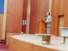 """نادي عدالة ينظم محاضرة علمية بعنوان """"المكانة الدولية للمملكة العربية السعودية"""""""