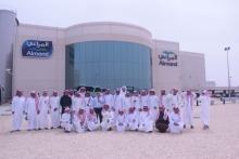 أكثر من ثلاثين طالباً من كليات الأفلاج في زيارة لشركة المراعي